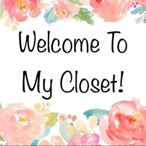 Welcome to my closet